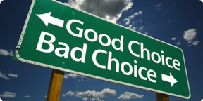 Behind the Curtain: One Bad Choice Begets a Dozen